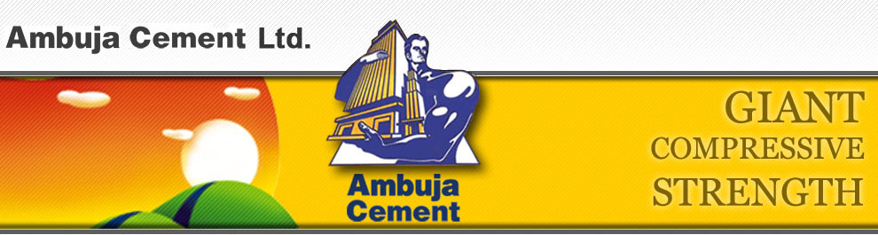 Ambuja Cements Limited : Contact ambuja cements limited jobs in